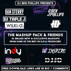 The Mashup Pack & Friends Vol 1 *10 Edits In One Pack* (Tracklist In Description)