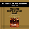 Blessed Be Your Name (Medium Key Performance Track With Background Vocals)