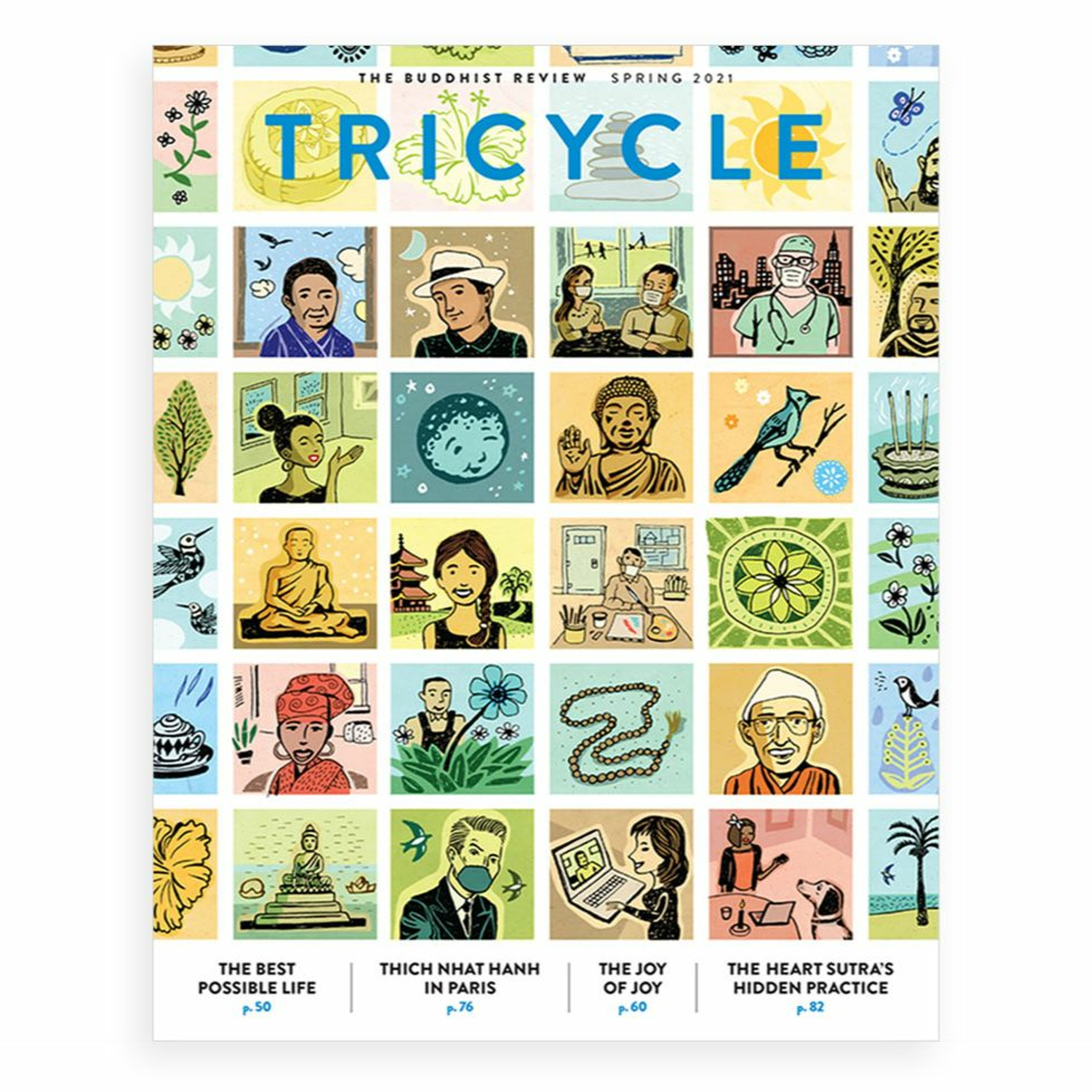 Inside Tricycle's Spring 2021 Issue