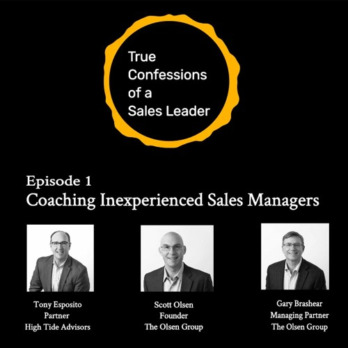 # 1 - How to Coach Inexperienced Sales Managers