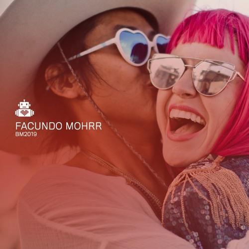 Facundo Mohrr - Robot Heart - Burning Man 2019