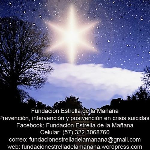 Fundacion Estrella De La Mañana Prevencion, Intervención, del suicidio. Programa 25 Marzo