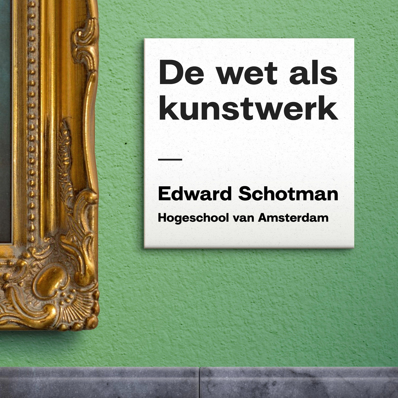 S01E03 - Ethiek & Recht Met Edward Schotman