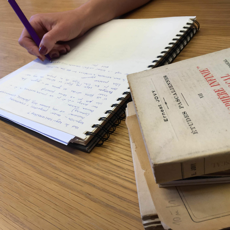 Att lära sig skriva