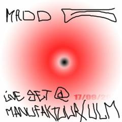 MADD G LIVE DRAIN SET (Live @ULM 17-09-2021)