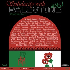 SOLIDARITY MIX FOR ROOTRADIO (BROADCASTED MAY 15, 2021) FREE PALESTINE