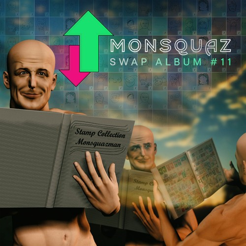MONSQUAZ SWAP ALBUM #11 - STAMP COLLECTORS DELIGHT