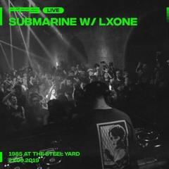 FFS Live: Submarine w/ LXOne — 1985 @ The Steel Yard - 27.09.19