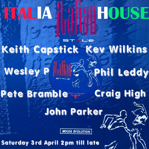 Italia House Saturday 3rd April