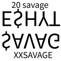 #FreePoohShiesty - 20 SAVAGE aka XXSAVAGE