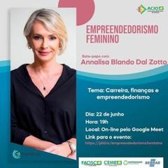 22/06/2020 - Empreendedorismo Feminino: Associação Empresarial de Orleans promove evento gratuito