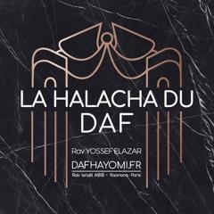 ⚖️ HALACHA DAF | PESSAHIM 107 פסחים |🗓 Lun8 | DafHayomi.fr
