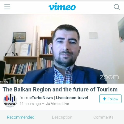 Dodig on The Balkan Region And The Future Of Tourism