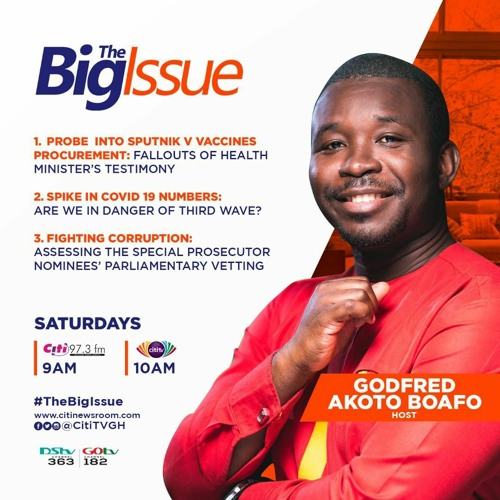The Big Issue: Saturday, 24th July, 2021