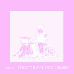 VOLTA - Förster Sounds 000.002