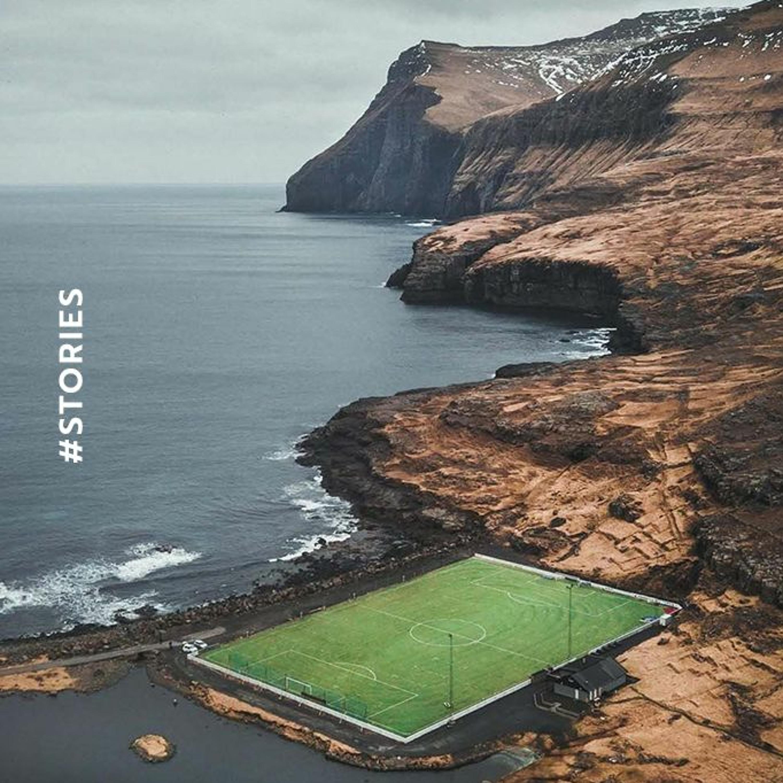 หมู่เกาะแฟโร ประเทศที่มีบุคลากรฟุตบอลมากที่สุดอันดับ 3 ของโลก Main Stand