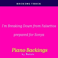 I'm Breaking Down From Falsettos Prepared For Sonya (cut Instrumental Backing)