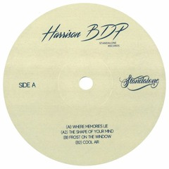 [STV002] Harrison BDP - Shape Of Your Mind EP *Vinyl Only*
