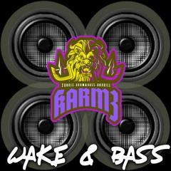 WAKE & BASS  DNB MIX VOL 2 //DJ KARMZ 25K PLAYS FREEBIE