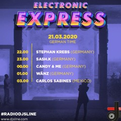 👀🧐🎶 DJsLine :...Sash.K In The Mix... Radioshow🎛🎧🔥 Electronic Express vom 21.03.2020  Techno