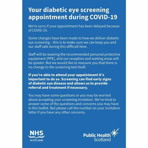 Diabetic Eye Screening Programme Restart Q&A