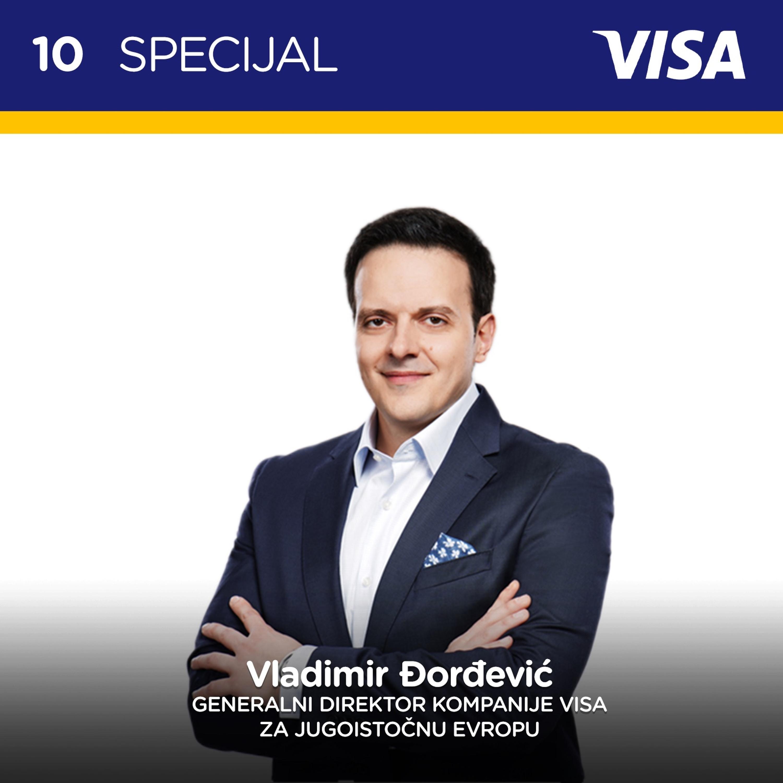 Pojačalo Visa Specijal 10: O evoluciji plaćanja i podršci kompanije Visa privredi i građanima