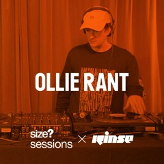 size? sessions - Ollie Rant