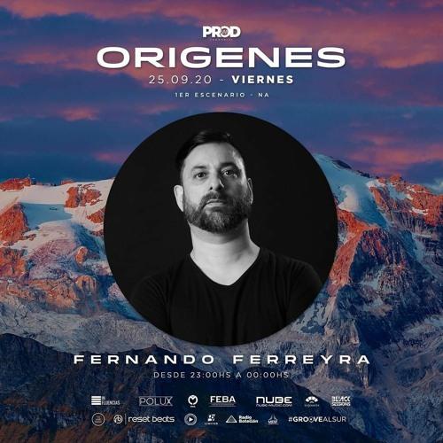 [25-09-2020] Fernando Ferreyra @ Origenes Megafestival