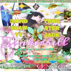 TINKERBELL🧚 YUNGSTER-JACK + DAVID-SHAWTY p. Prblm #NITEMARE ✨✨bryght powder^