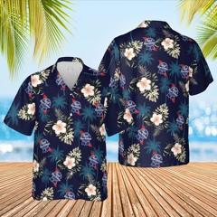 Pabst blue ribbon beer hawaiian shirt