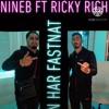 Download NINEB YOUK X RICKY RICH - HON HAR FASTNAT (OSLÄPPT) )OFFICIAL AUDIO Mp3