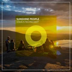Venus - Sunshine People (Stahl's Techno Edit) [FREE DOWNLOAD]