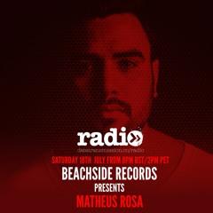Beachside Records Radioshow Presented By Matheus Rosa - EP038