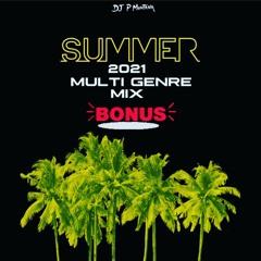 Summer 21 (Bonus Mix)RnB Hip Hop Drill & Afrobeats By DJ P Montana