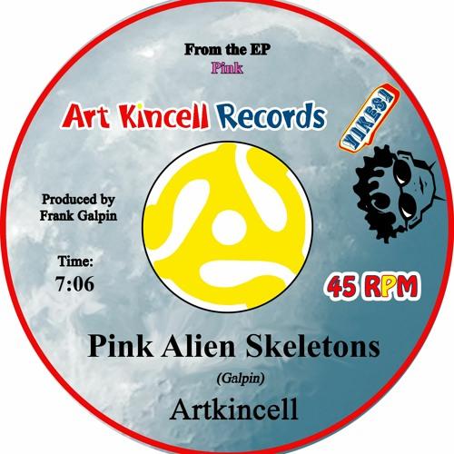 Pink Alien Skeletons