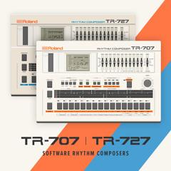 TR-707 & TR-727  Software Rhythm Composers Song & Sound Demo -  Pop