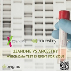 23andMe vs Ancestry: DNA tests compared - Origins Genealogy