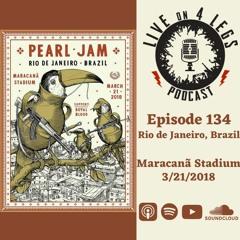 Episode 134: Rio de Janeiro, Brazil - 3/21/18