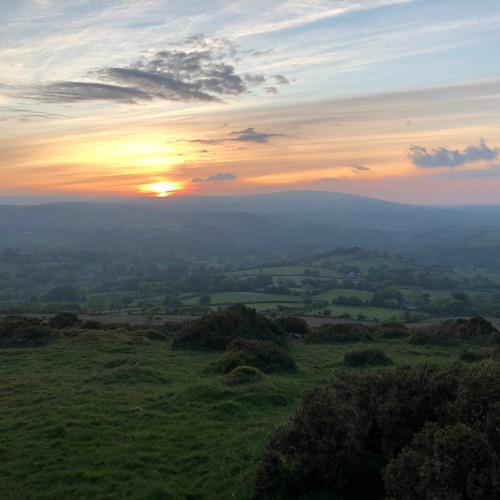 Meldon sunset 7 May 2020