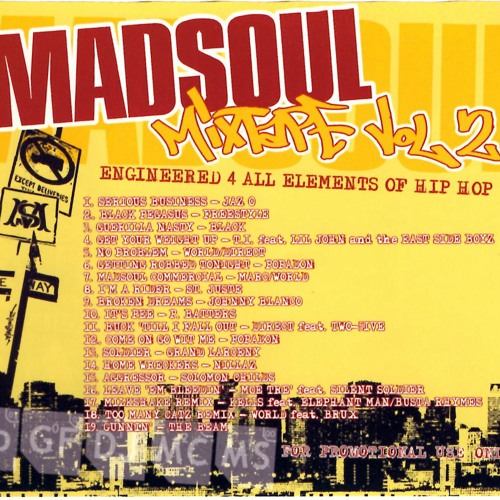 Madsoul mixtape vol 2 hosted by Dj RonG
