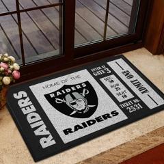 NFL Las Vegas Raiders Team Ticket Runner Doormat