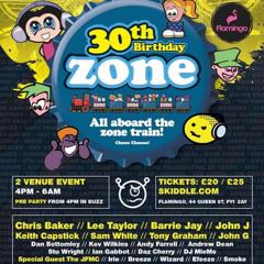Zone 30th Birthday  Flamingos  - Blackpool