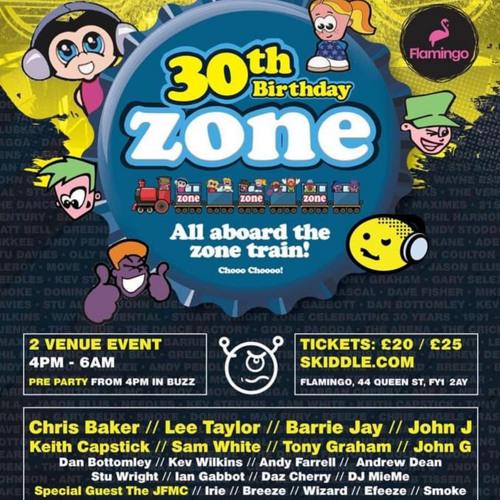 Dj Mieme - Zone 30th Birthday promo ❤️🎧🎶  @FLAMINGO - BLACKPOOL