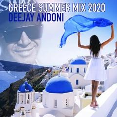 GREECE SUMMER CLUBBING - DEEJAY ANDONI MIX 2020