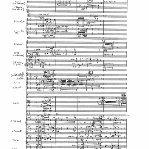 Polyskopie (for soloists and chamber-orchestra)