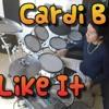 Cardi B, Bad Bunny & J Balvin - I Like It | drum cover bateria