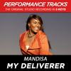 My Deliverer (Performance Track In Key Of G Without Background Vocals; Med. Instrumental)