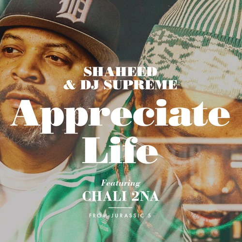 Shaheed and DJ Supreme - Appreciate Life (feat. Chali 2na from Jurassic 5)