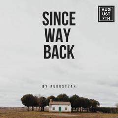 since way back (Future Bass)
