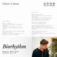 Biorhythm Radio: Pleasure is Harmony by Sasha Tessio @ 20ft Radio - 19/08/2020
